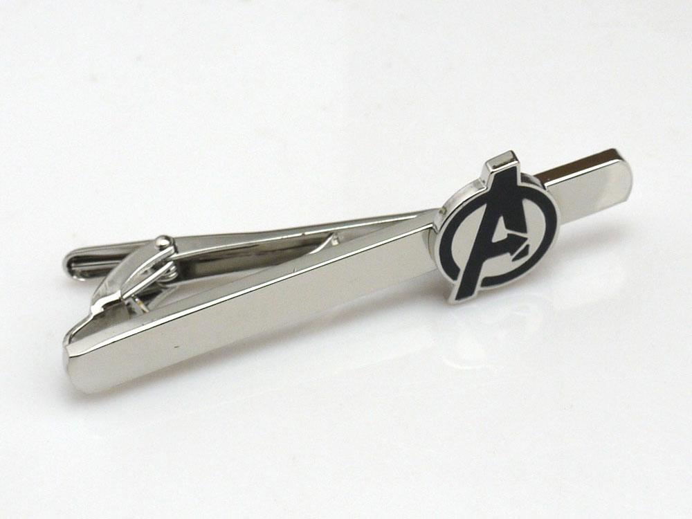 avenger logo tie pin