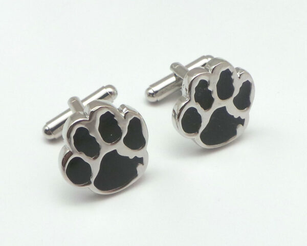 bear paw cufflinks