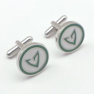 green arrow cufflink