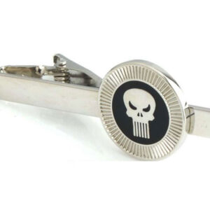 The Punisher tie clip