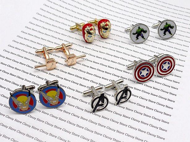 Avenger cufflinks