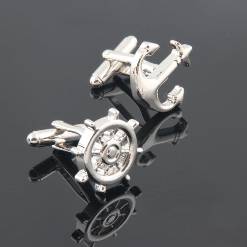 Anchor Helm cufflinks