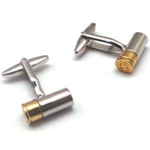 Ammo Bullet Cufflinks