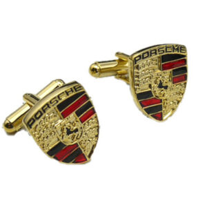 Porsche cufflink