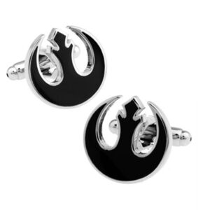 Rebel Alliance cufflinks black