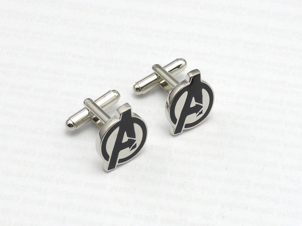 avenger logo cufflinks