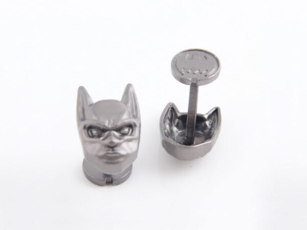 batman cufflink 3d mask