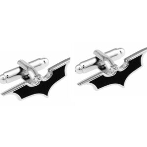 batman shape cufflinks