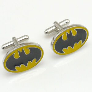 Batman Cufflinks (Yellow)
