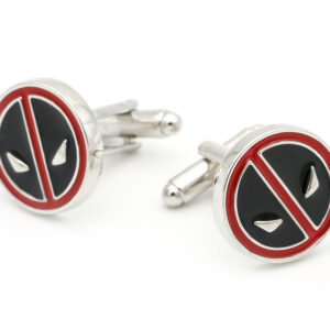 deadpool cufflinks