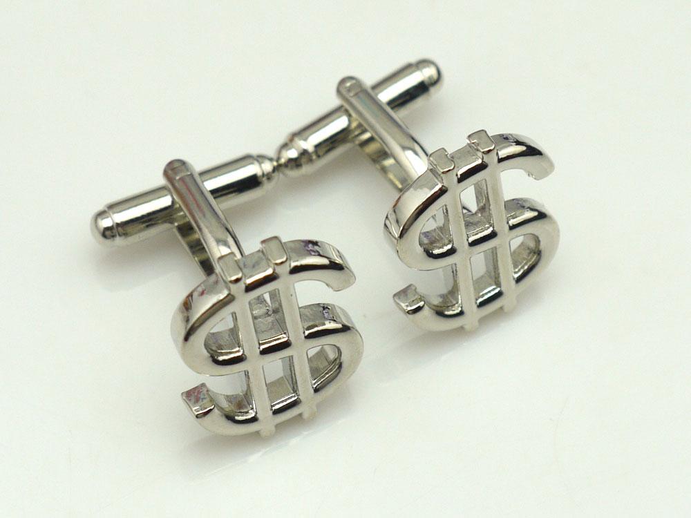 Dollar Sign Cufflinks