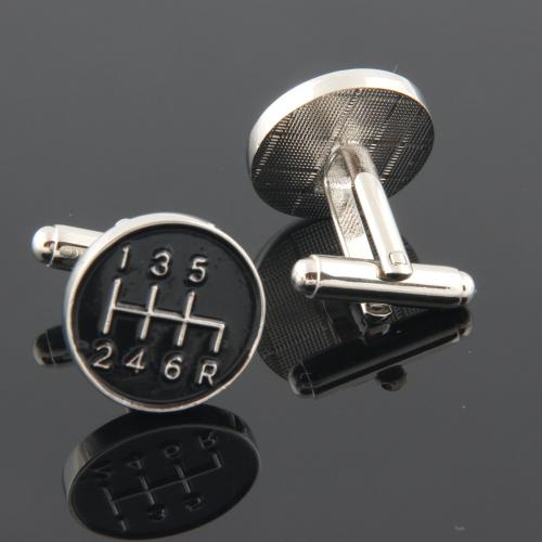 gear cufflinks