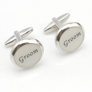groom cream cufflink 1