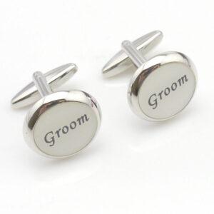 groom cream cufflink 1