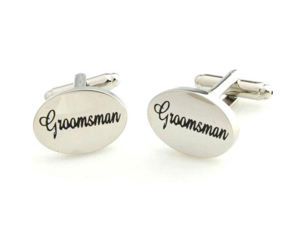 groomsman cufflinks