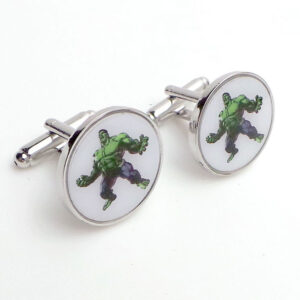 incredible hulk cufflinks