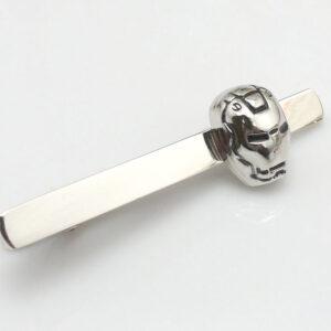 Iron Man Tie Clip silver