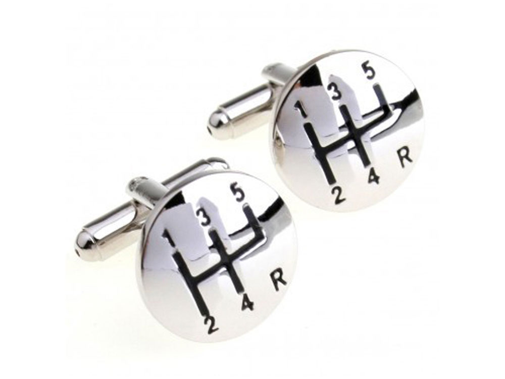 Manual Gear Cufflinks