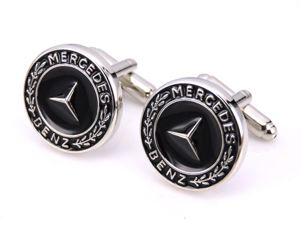 Mercedes Benz Cufflinks (Black)