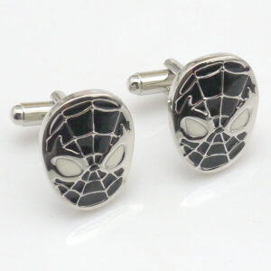 Spiderman Cufflinks (Black)