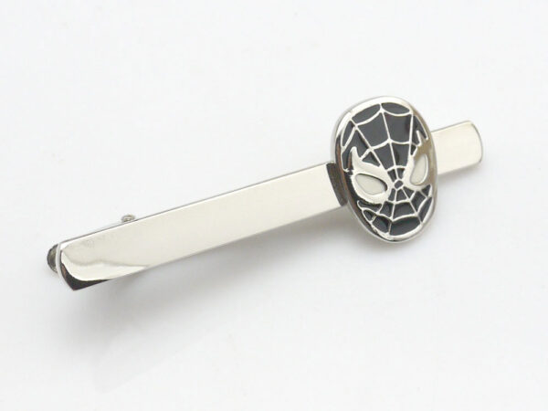 Spiderman Tie Clip (Black)