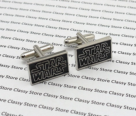 star war cufflinks