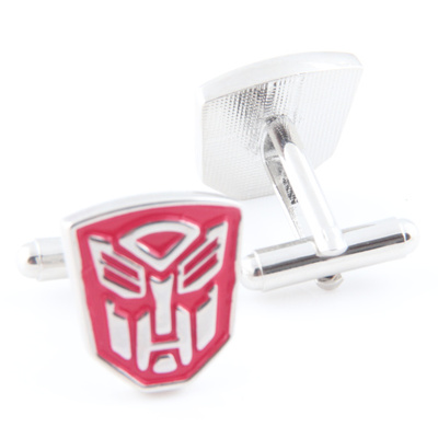 optimus prime cufflinks red