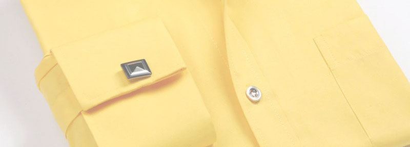 yellow cuff shirt